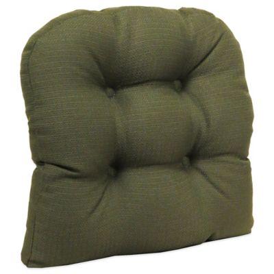 Klear Vu Universal Omega Gripper® Chair Pad in Evergreen