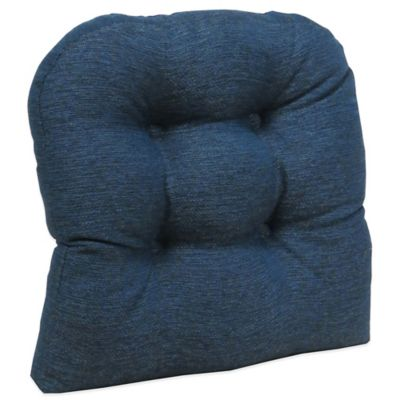 Klear Vu Gripper® Omega Ultra-Thick Non-Slip Chair Pad in Midnight