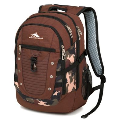 High Sierra® Tactic 19-Inch Laptop Backpack in Chocolate
