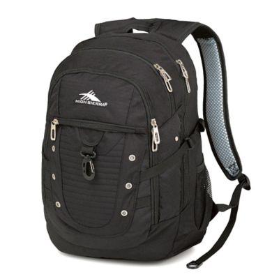 High Sierra® Tactic 19-Inch Laptop Backpack in Black