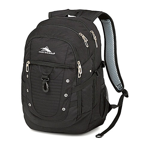 Buy High Sierra 174 Tactic 19 Inch Laptop Backpack In Black