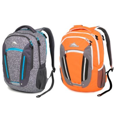 High Sierra® Modi 19.5-Inch Laptop Backpack in Electric Orange/Charcoal