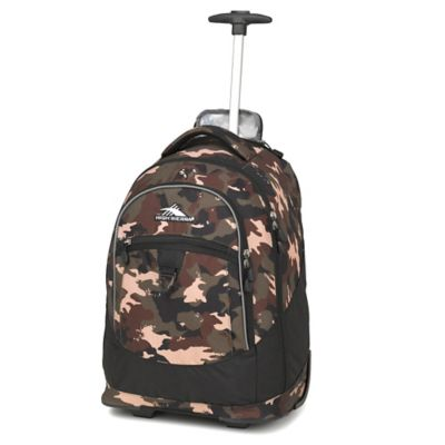 High Sierra® Chaser 20-Inch Wheeled Backpack in Whamo Camo