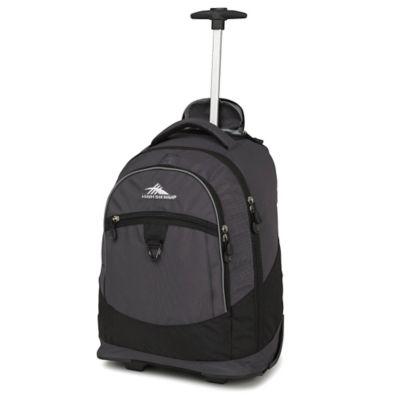 Grey Wheeled Backpack