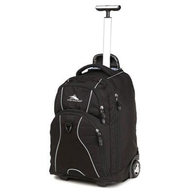 High Sierra® Freewheel 20-Inch Wheeled Backpack in Black