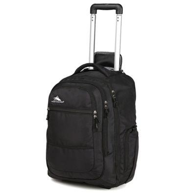 High Sierra® Rev 21-Inch Wheeled Backpack in Black