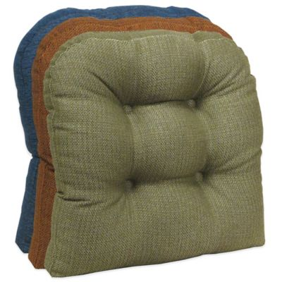 Klear Vu Omega Universal Extra-Large Gripper® Chair Pad in Sage