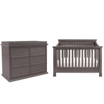 Million Dollar Baby Classic 5-Piece Foothill Nursery Bundle Set in Weathered Grey