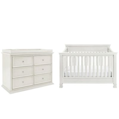 Million Dollar Baby Classic 5-Piece Foothill Nursery Bundle Set in Dove White