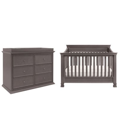 Million Dollar Baby Classic 4-Piece Foothill Nursery Bundle Set in Weathered Grey
