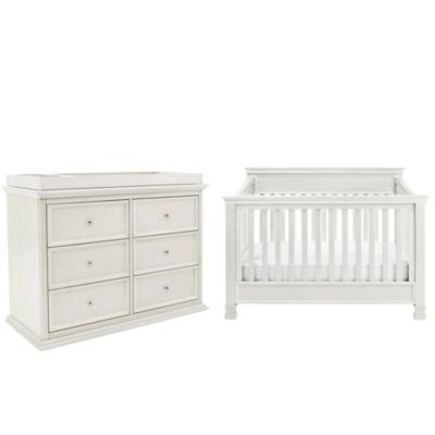 Million Dollar Baby Classic 4-Piece Foothill Nursery Bundle Set in Dove White