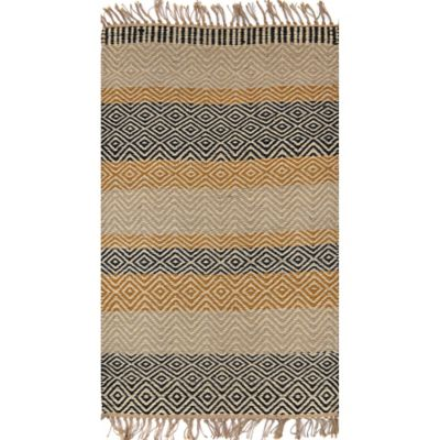 Kanak 5-Foot x 7-Foot Multicolor Accent Rug