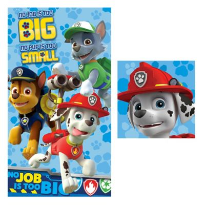Paw Patrol Bath Towel and Washcloth