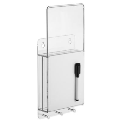 InterDesign® Linus Wall Mount Mail & Key Center with Dry-Erase Board