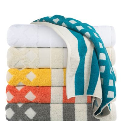 Trina Turk® Moroccan Bath Towel in White