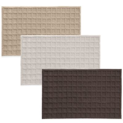 Grund® Basics 1-Foot 5-Inch x 2-Foot Ley Bath Rug in Chocolate