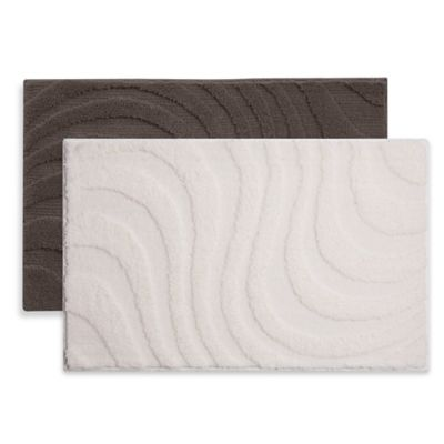 Grund® Basics 1-Foot 5-Inch x 2-Foot Glory Bath Rug in Cream