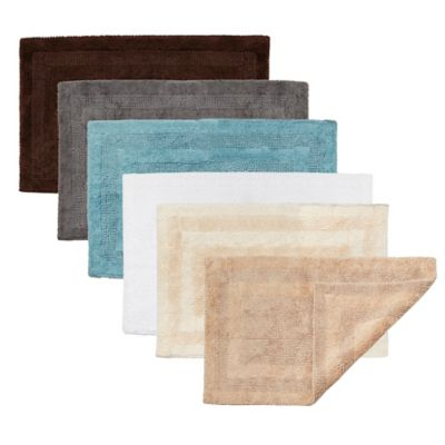 Cotton Reversible Bath Rugs