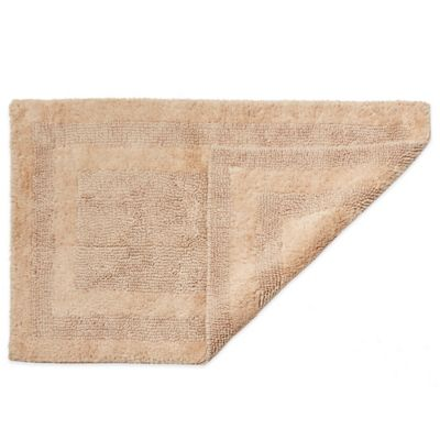 HygroSoft by Welspun 1-Foot 5-Inch x 2-Foot Reversible Bath Rug in Sand