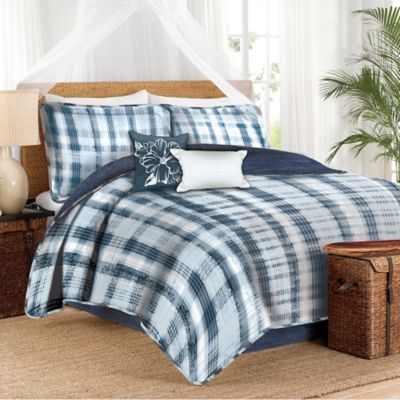 Caribbean Joe Martinique Twin Comforter Set in Multi