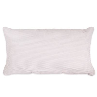 Caribbean Joe Martinique Oblong Throw Pillow in White