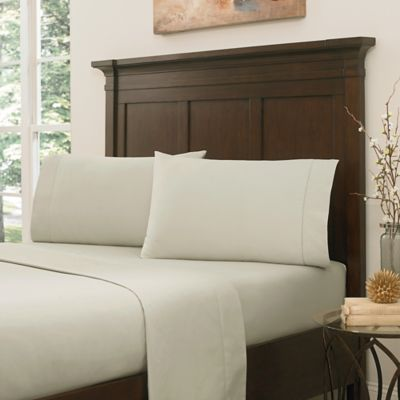 Crowning Touch by Welspun RSVP 800-Thread-Count Egyptian Cotton Full Sheet Set in Latte