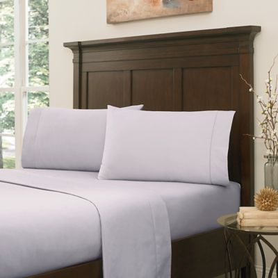 Crowning Touch by Welspun RSVP 800-Thread-Count Egyptian Cotton Full Sheet Set in Lavender