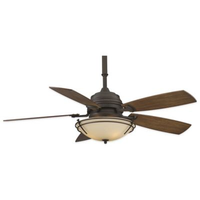 Fanimation Hubbardton Forge® Presidio Tryne 54-Inch x 22-Inch Ceiling Fan in Bronze