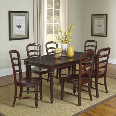 Home Styles Colonial Classic 7-Piece Dining Set