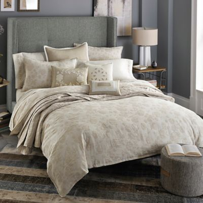 Beekman 1802 Stillwater King Duvet Cover in Linen
