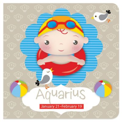 Aquarius Zodiac Book by Sylvia Takken