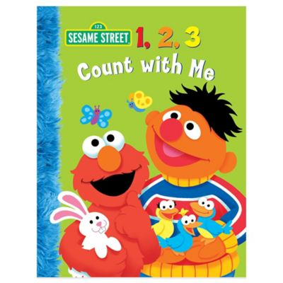 "Sesame Street ""1, 2 ,3 Count with Me"" by Naomi Kleinberg"
