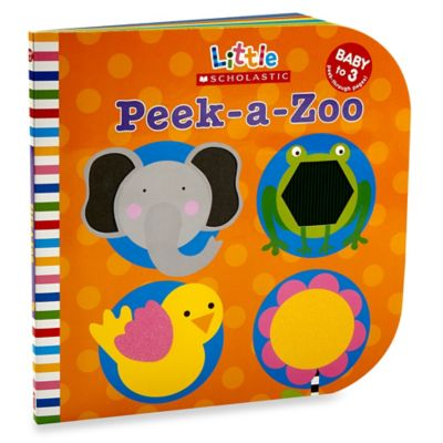 Peek-a-Zoo Board Book