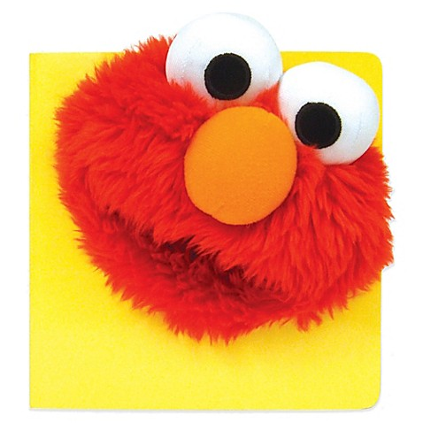 Sesame Street Gt Furry Faces Elmo Book From Buy Buy Baby