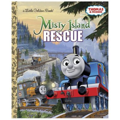 "Thomas and Friends ""Misty Island Rescue"" Little Golden Book®"