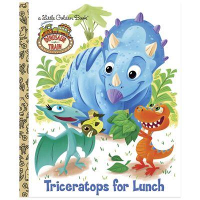 """Dinosaur Train: Triceratops for Lunch"" Little Golden Book"