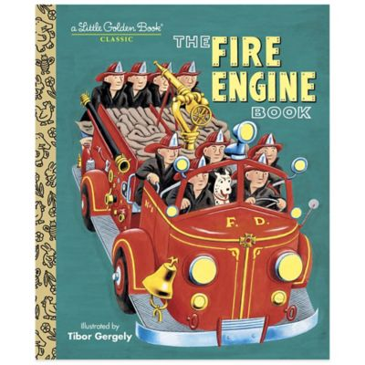 """The Fire Engine Book"" Little Golden Book®"
