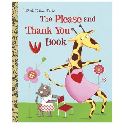 """The Please and Thank You Book"" Little Golden Book®"