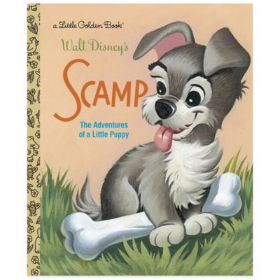 "Walt Disney's ""Scamp"" Little Golden Book®"