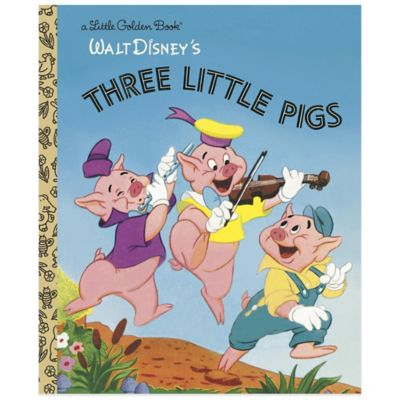 "Walt Disney's ""Three Little Pigs"" Little Golden Book®"