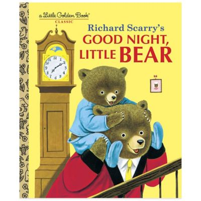 "Richard Scarry's ""Good Night, Little Bear"" Little Golden Book®"
