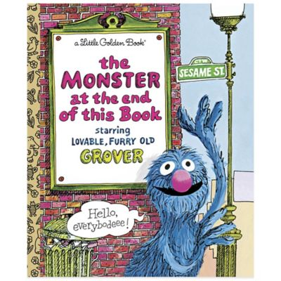 "Sesame Street ""The Monster at the End of This Book"" Little Golden Book®"