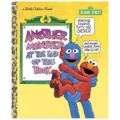 "Sesame Street ""Another Monster at the End of This Book"" Little Golden Book®"