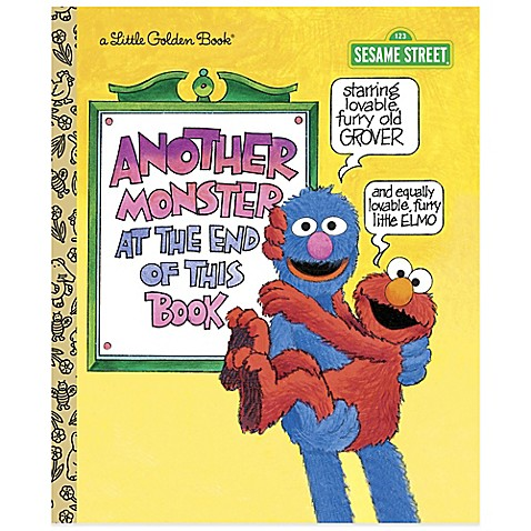 "Toddler Toys > Sesame Street ""Another Monster at the End of This Book"" Little Golden Book®"