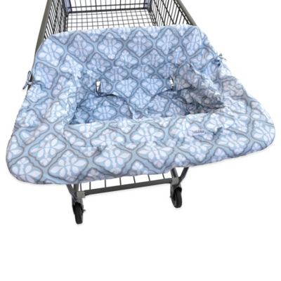 JJ Cole® Shopping Cart Cover in Blue Iris