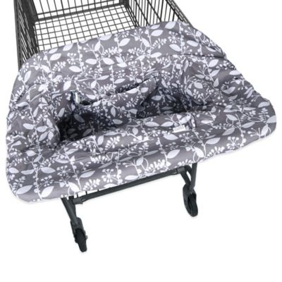 JJ Cole® Shopping Cart Cover in Ash Woodland