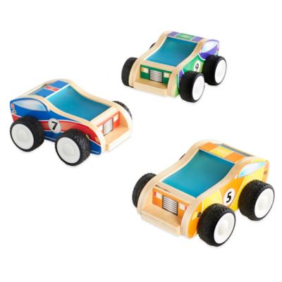 Yellow Baby Toy Cars