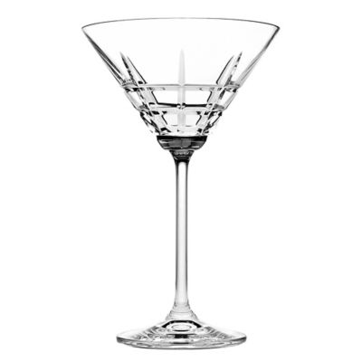 Godinger Top Shelf Tartan Martini Glasses (Set of 4)