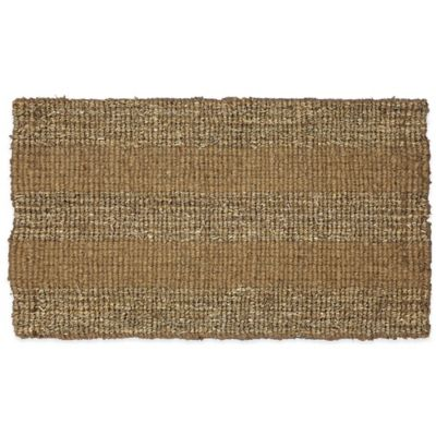 Mohawk Home 29.5-Inch x 17-Inch Seagrass Block Door Mat
