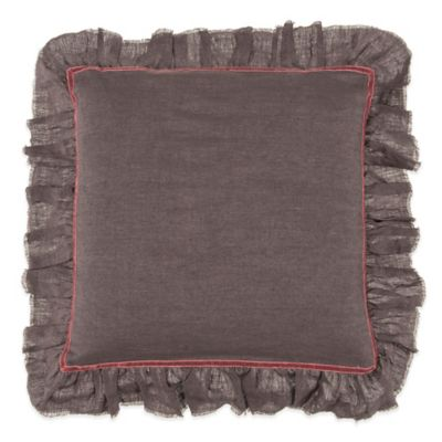Plum Colored Pillow